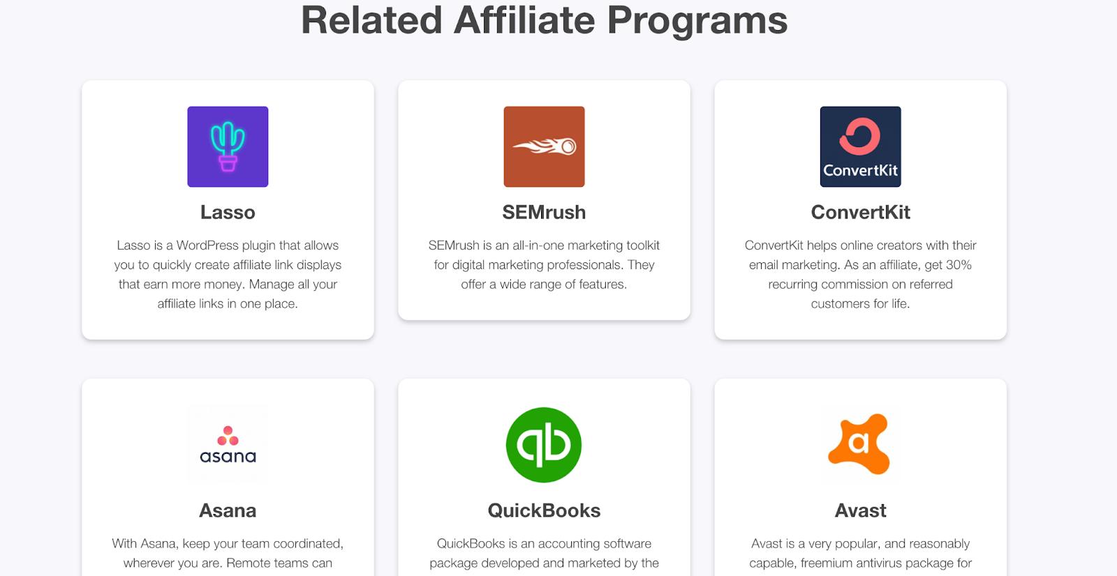 related affiliate programs beneath wp rocket
