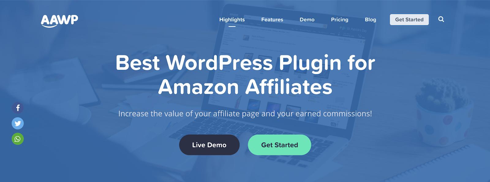 aawp wordpress amazon affiliate plugin