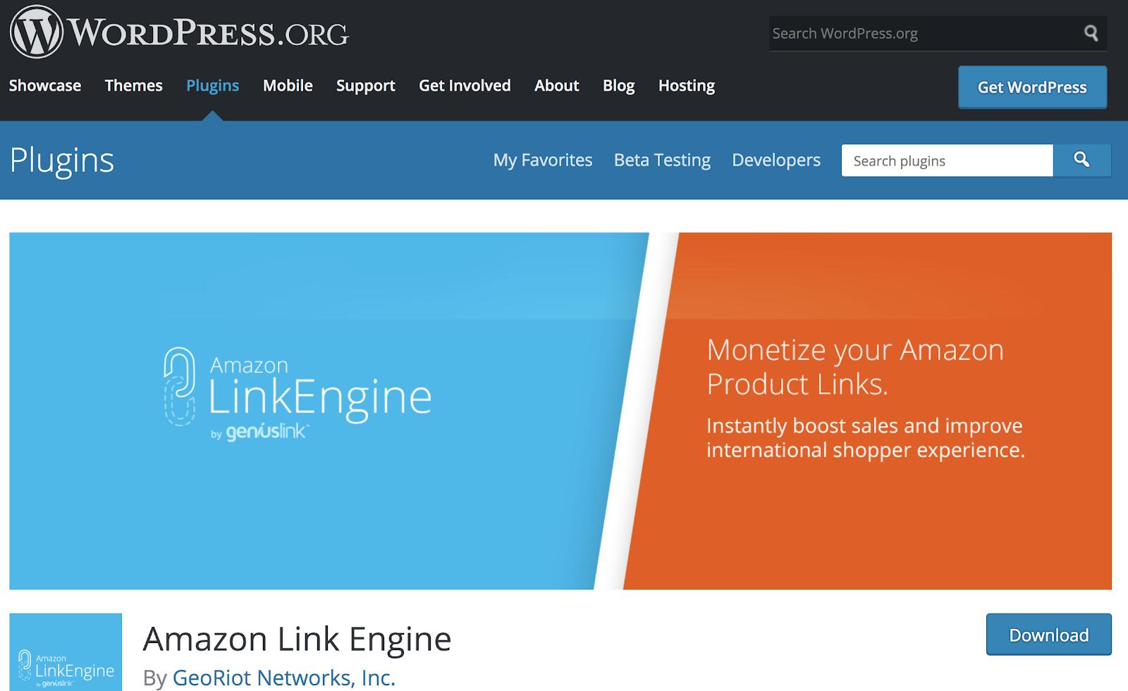amazon link engine