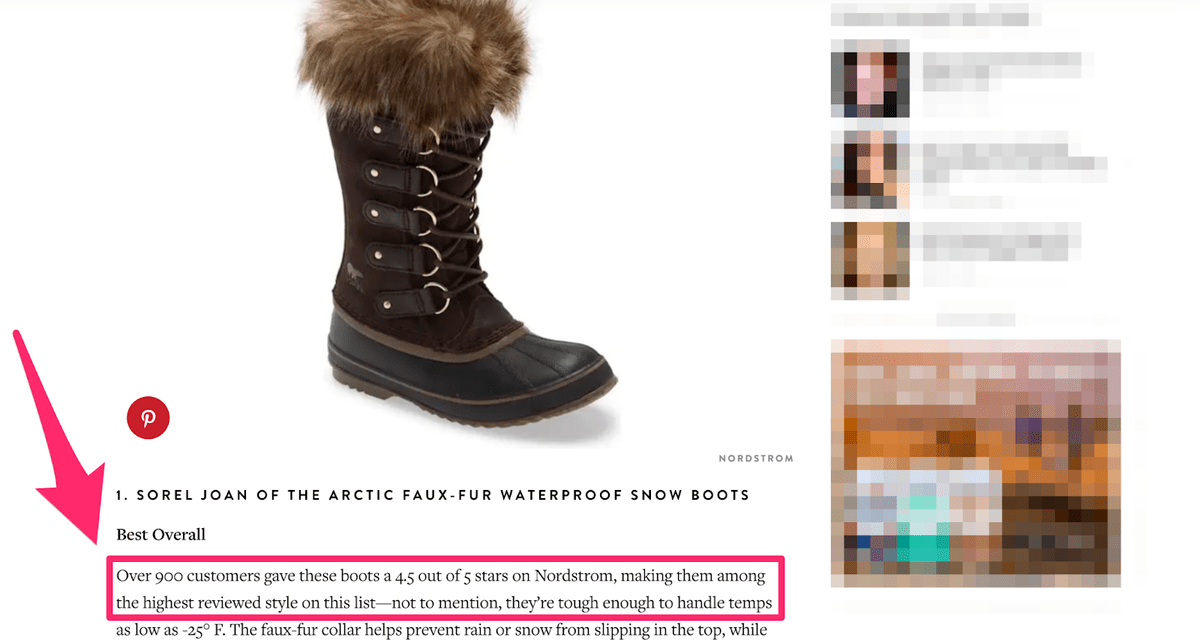demonstrating social proof in product copy