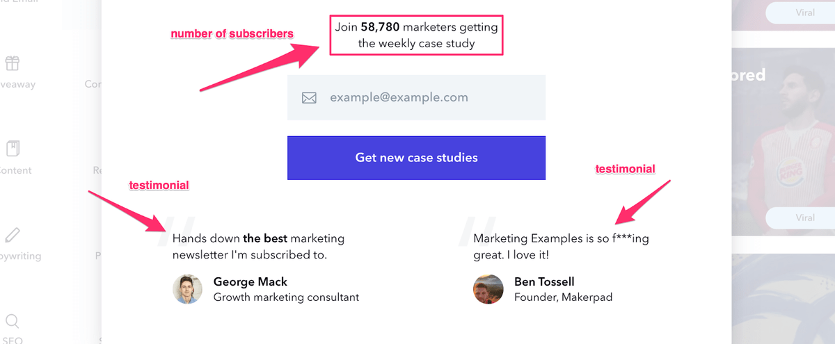 drive conversions with social proof in your footer